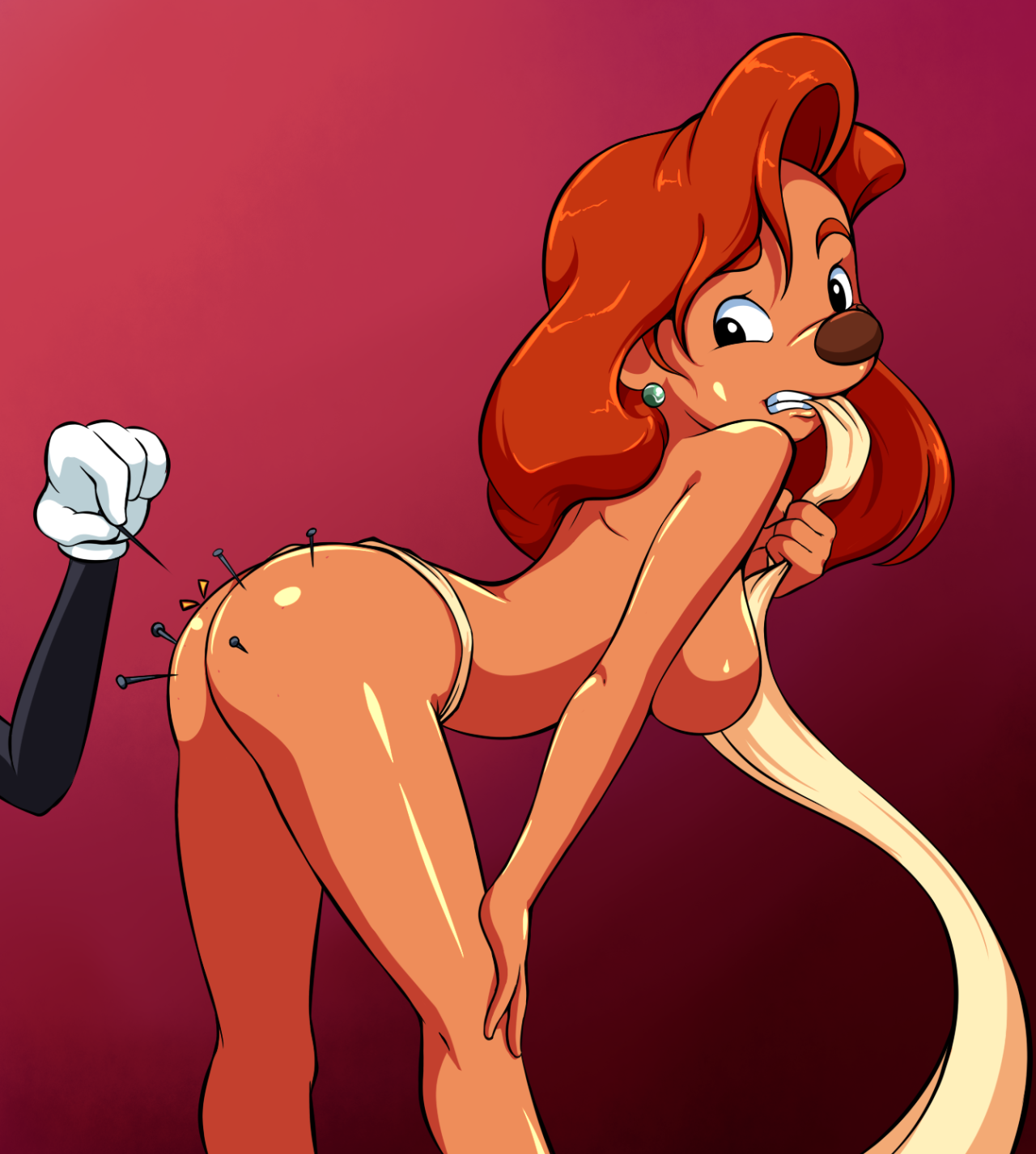 A Goofy Movie Roxanne Porn the big imageboard (tbib) - anthro bent over big breasts