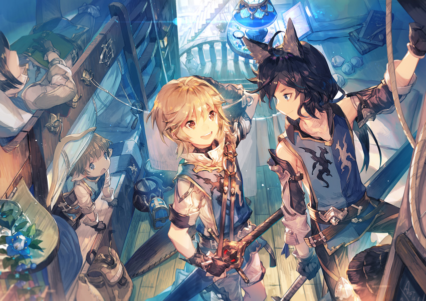 animal_ears granblue_fantasy male scorpion5050 tagme_(character)