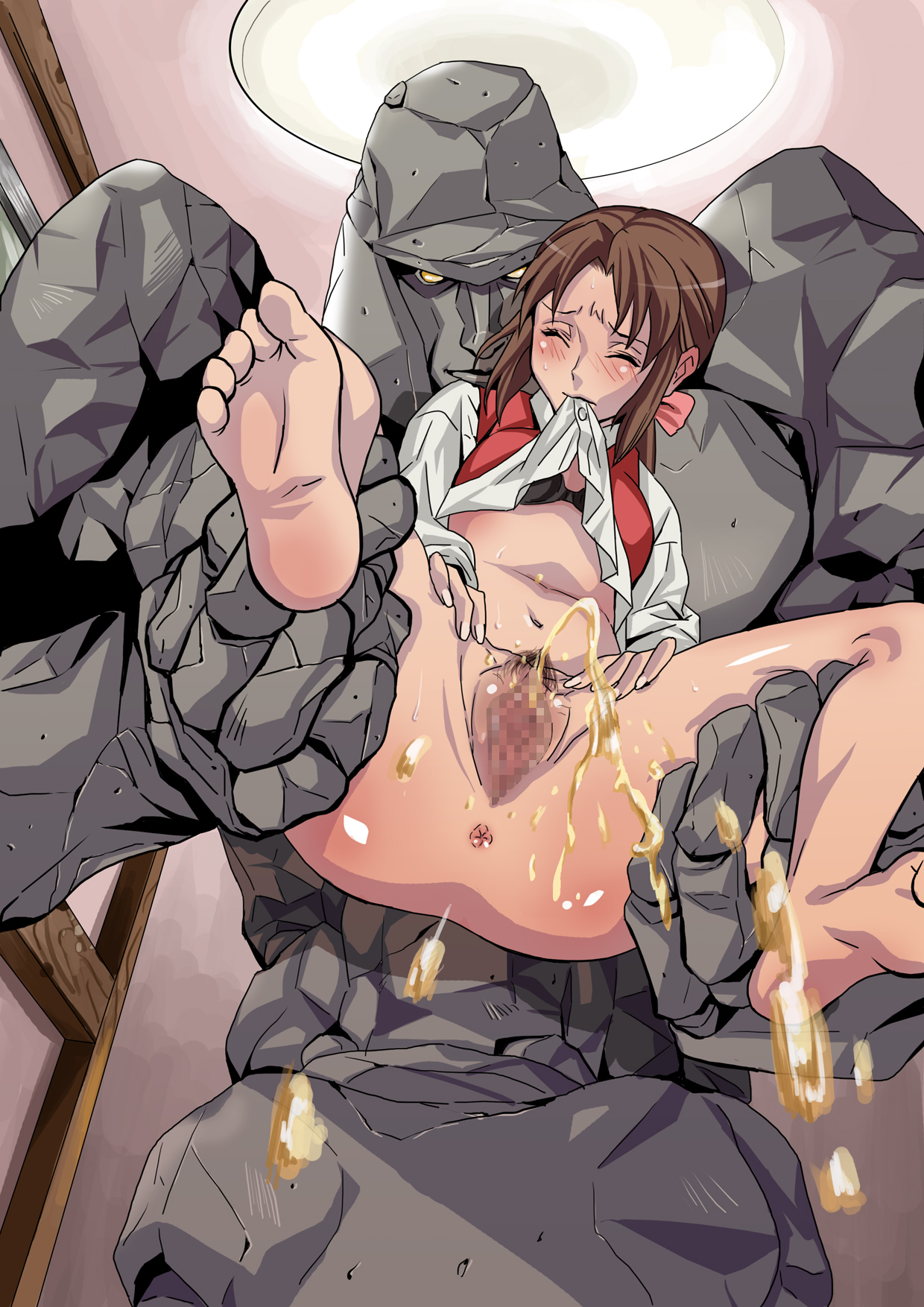 Hentai with golem erotic tube