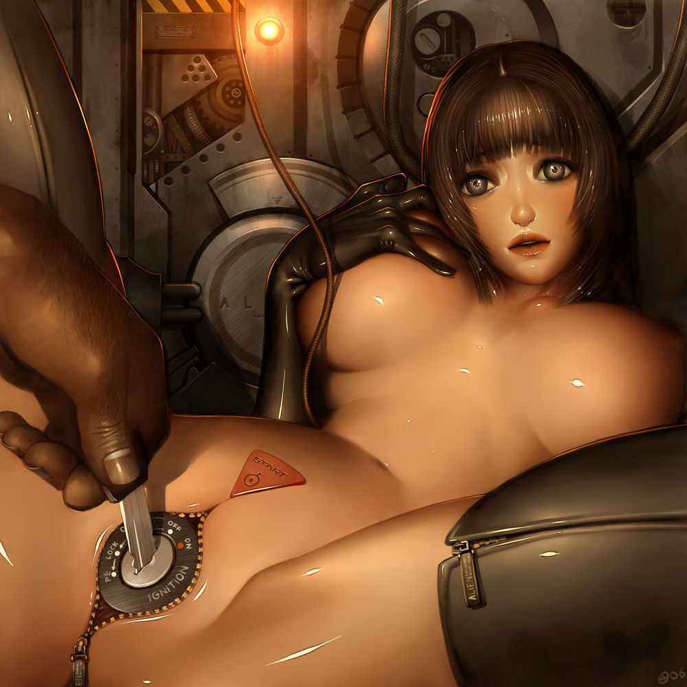 Nude robot woman porn sexual photos