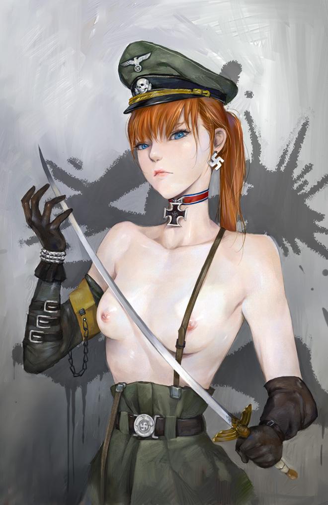 Nude russian brunette big boobs
