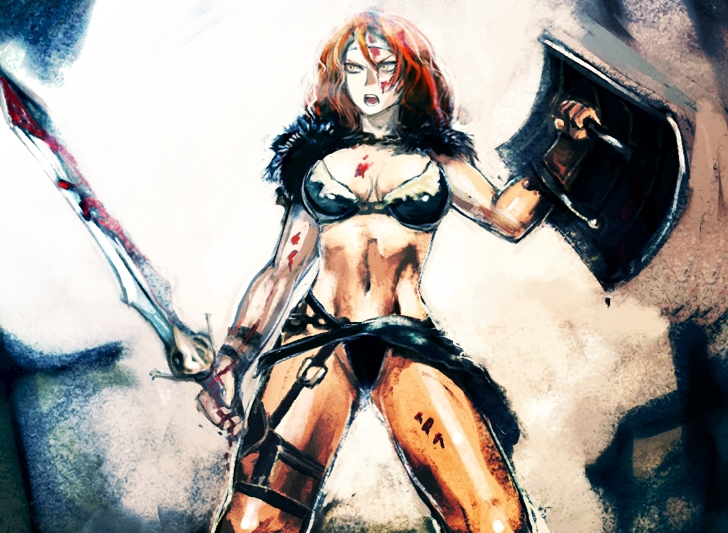 Girl barbarian from diablo 3 naked nudes image