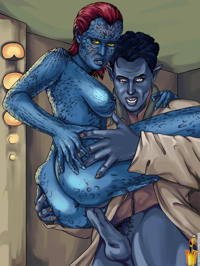 Xman porno #3