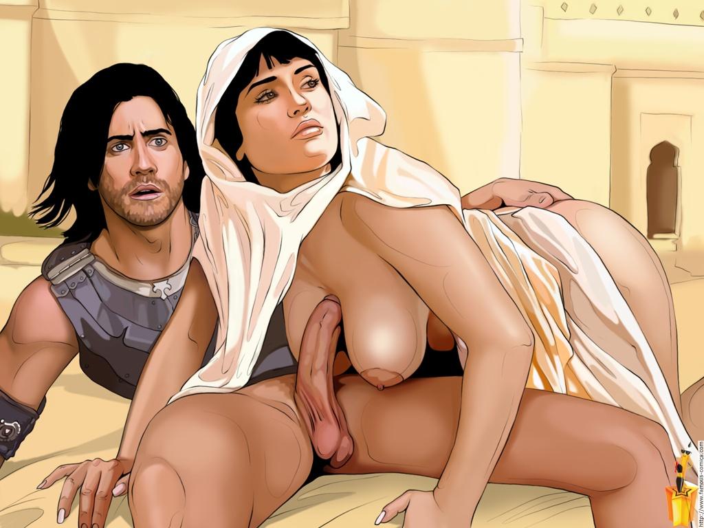 Порно комиксы про prince of persia