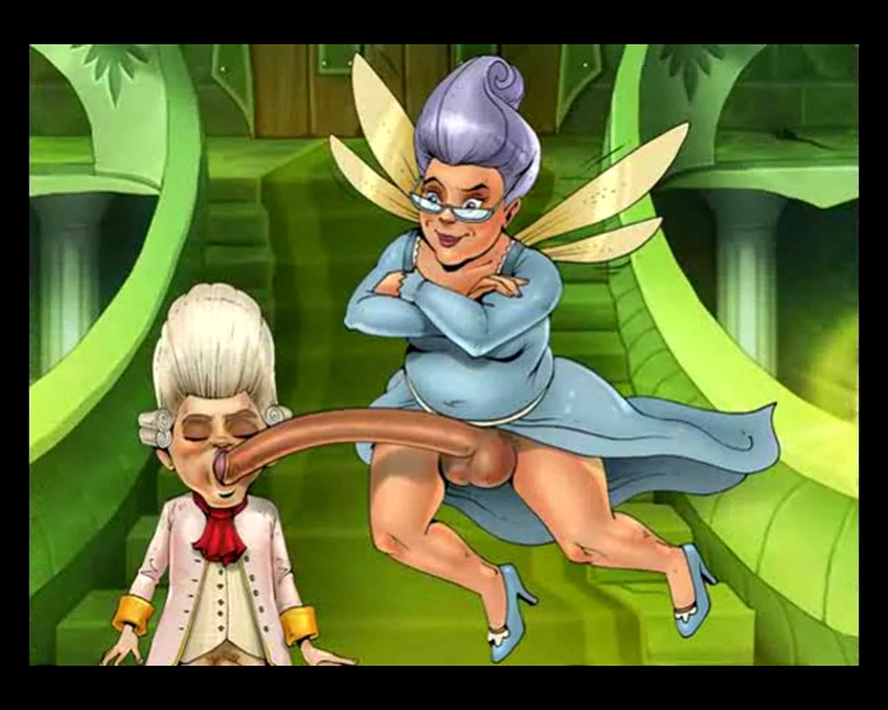 Fairy godmother shrek hentii porn sex pics