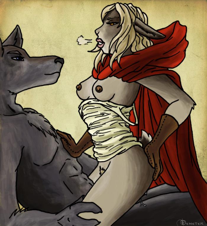 порно игра красная шапочка и серый волк
