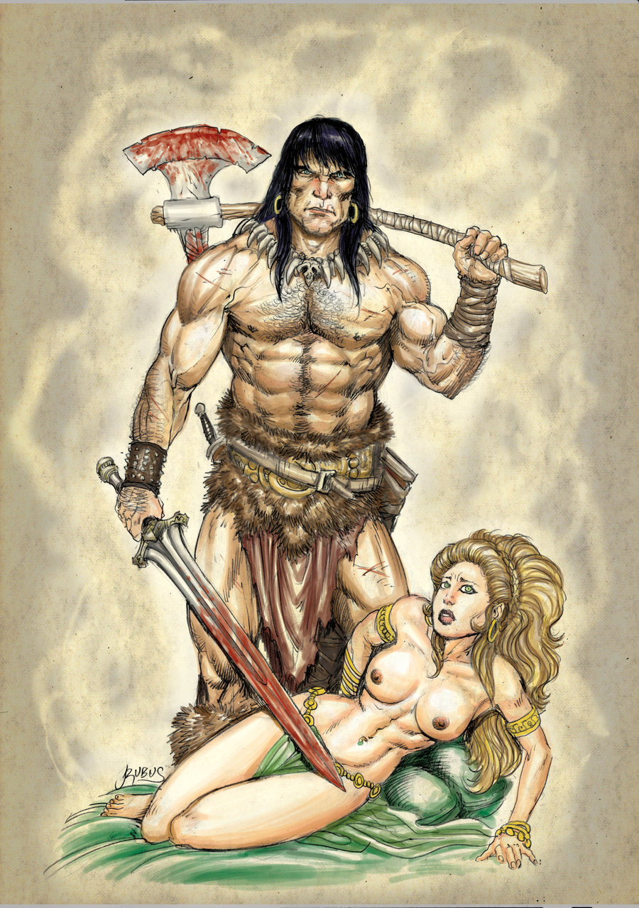 Barbarian sex erotic comics