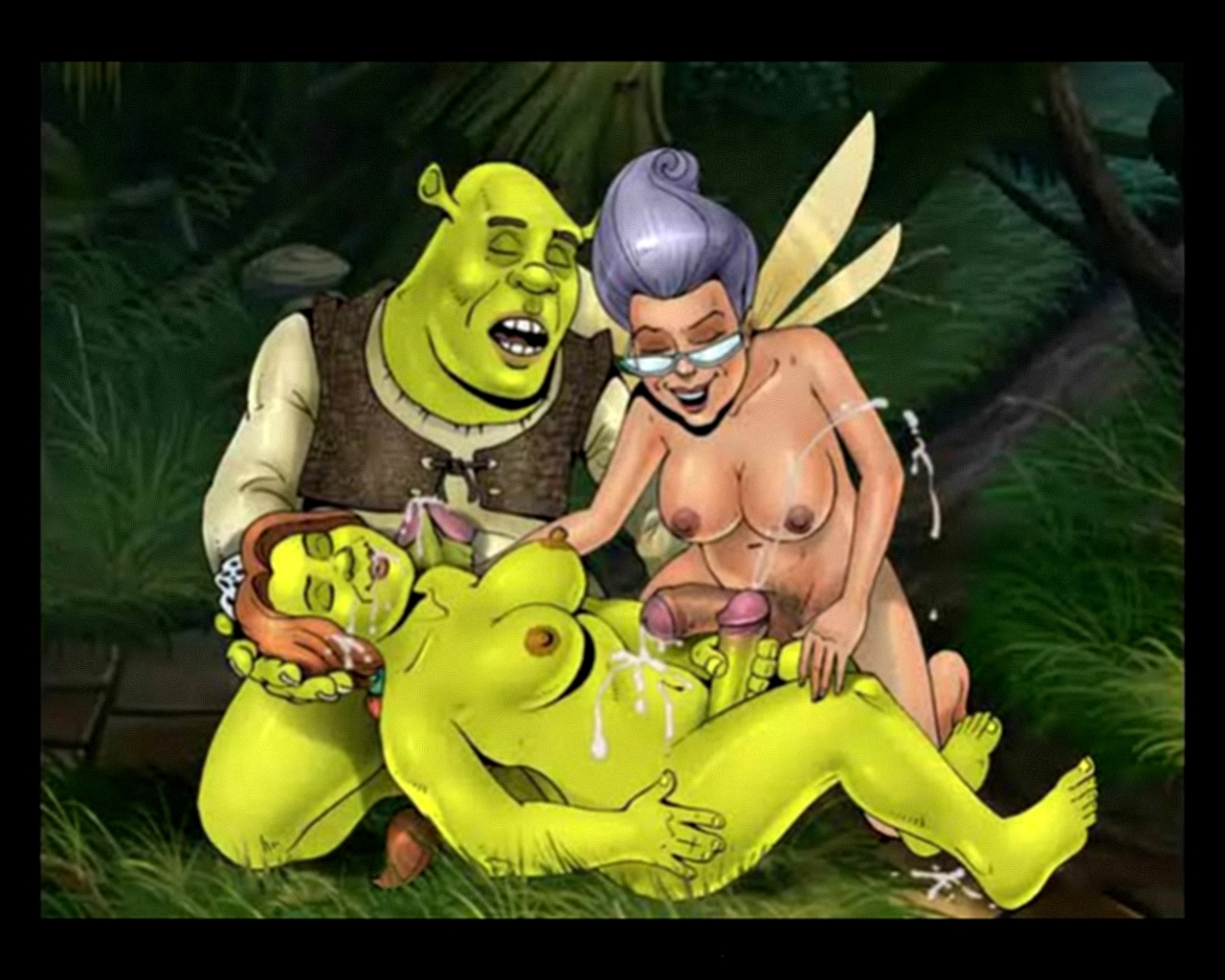 Picture of fiona and shrek sex sexual comic