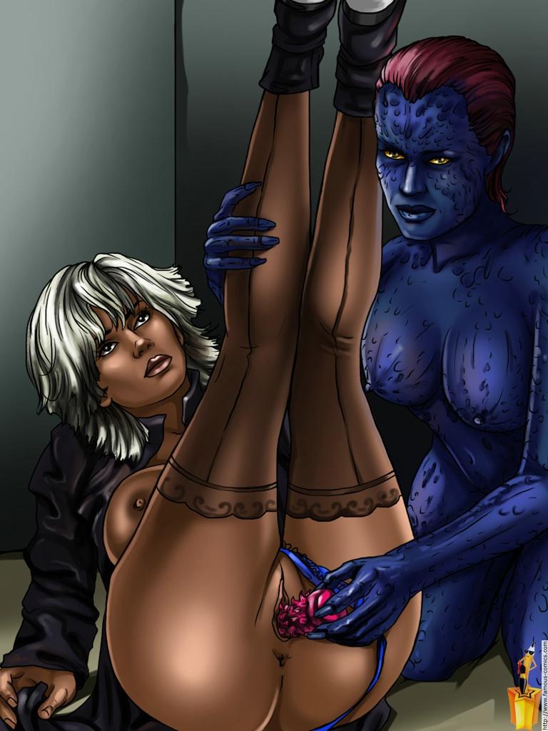 фото порно мистик из люди икс