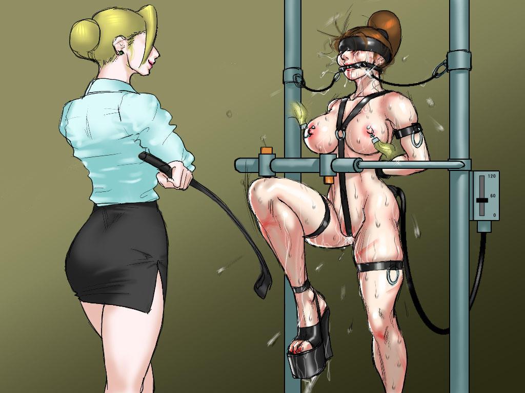 Cartoon henati bondage