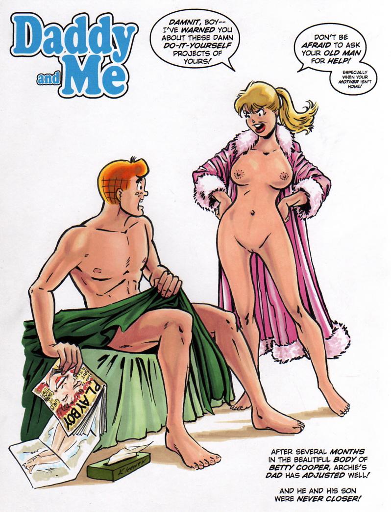 Archie, Betty, Veronica Nude Pics