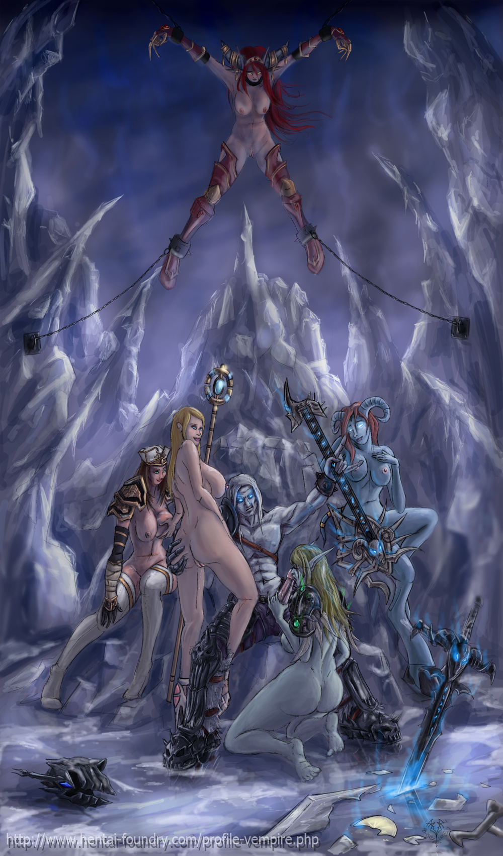 Arthas and jaina sex erotic photo