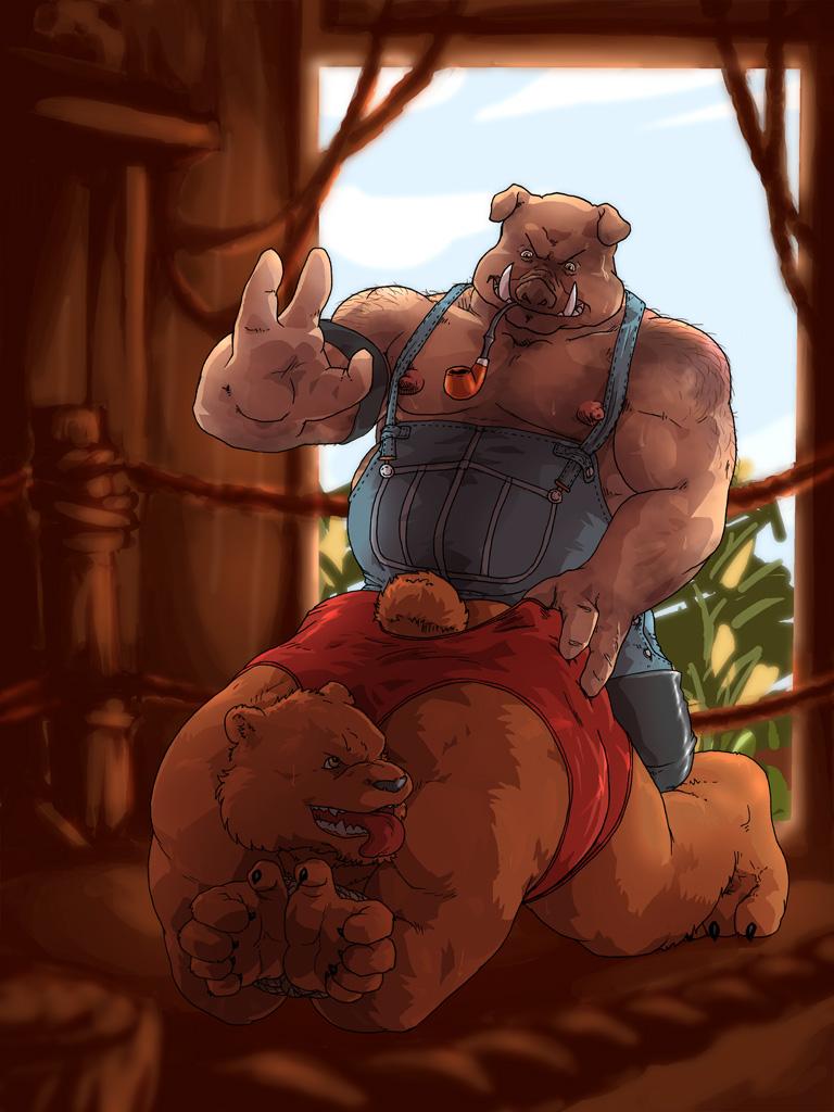 Bear hideaway gay