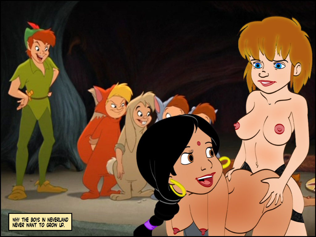 Dreams orgy in peter pan
