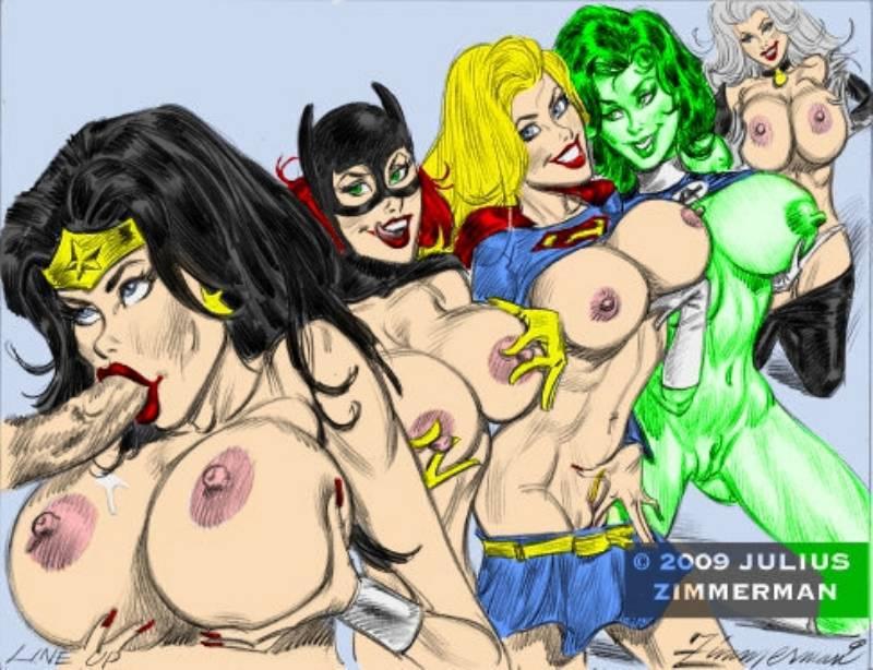 Wonder woman supergirl nude
