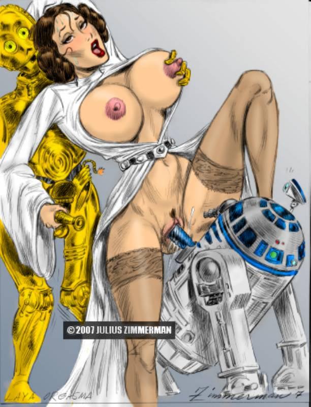 Смотреть онлайн порно принцесы лии из звездных войн