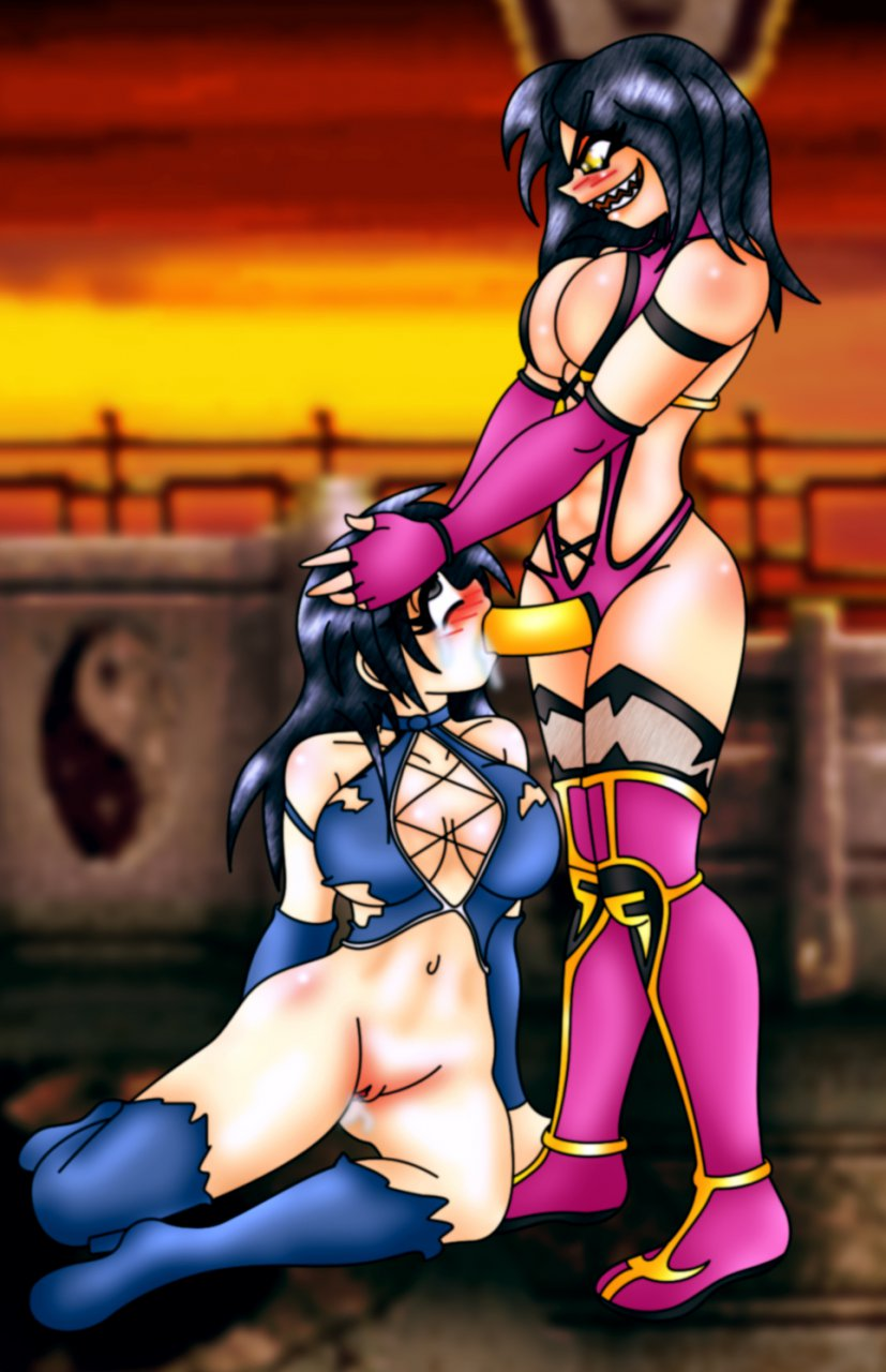 Mortal kombat kitana has lesbian sex with  sexy gallery