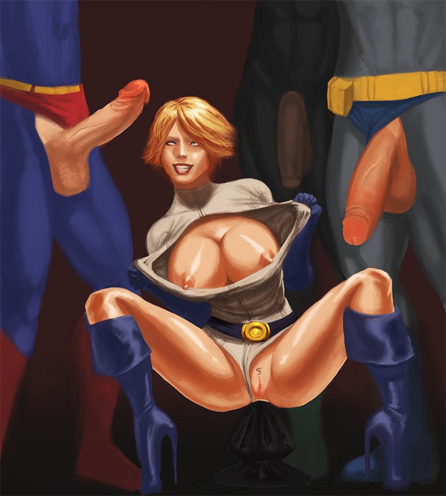 Power girl comic porn — img 2