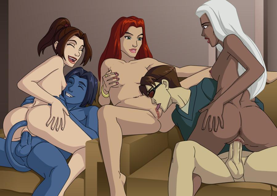Порно мультик люди икс 74427 фотография