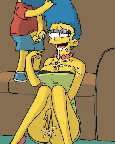 Симпсоны порно барт и марч