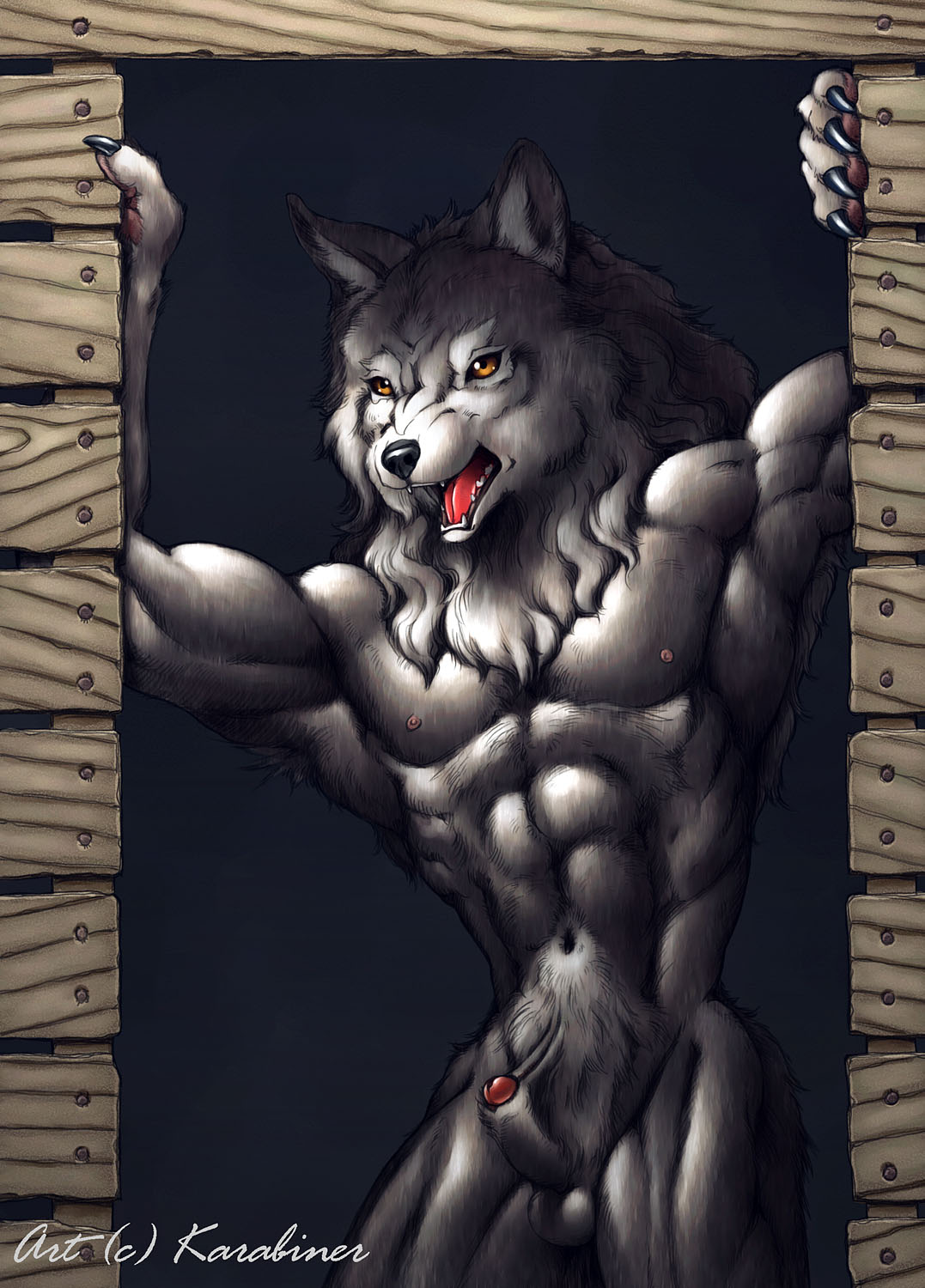 Man to werewolf naked sexy images