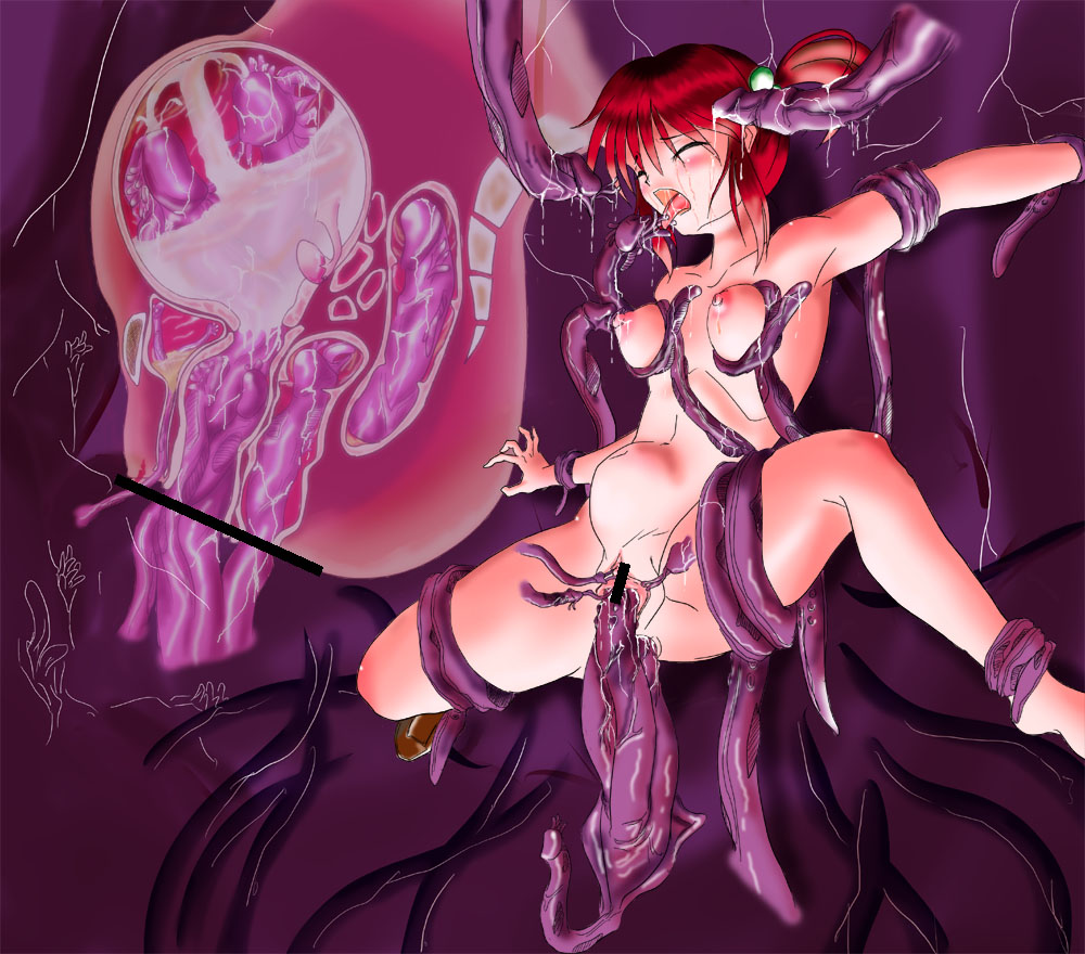 Tentacle erotic sex breasts