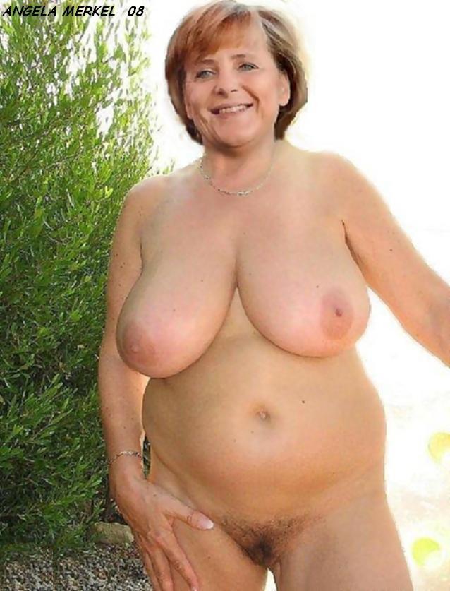 порно фото ангела меркель