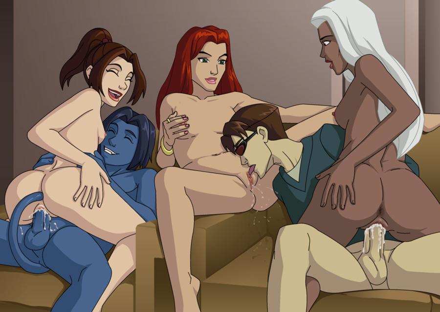 You x men evolution naked