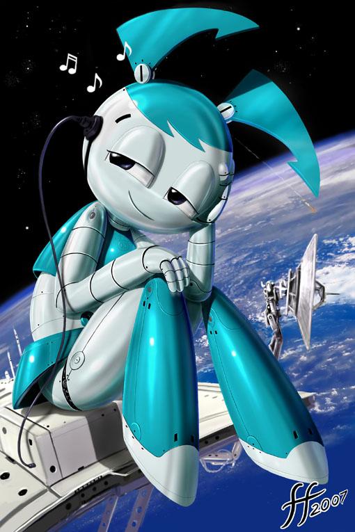 Картинки дженни девочка робот