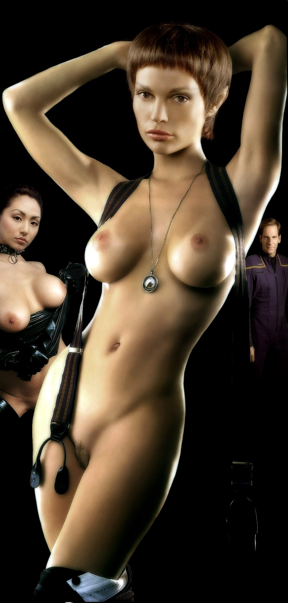 Startrek naked females 10