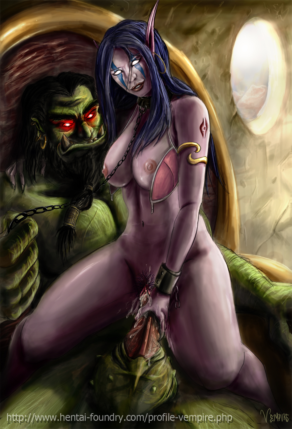 Night elf orc sex sex toons