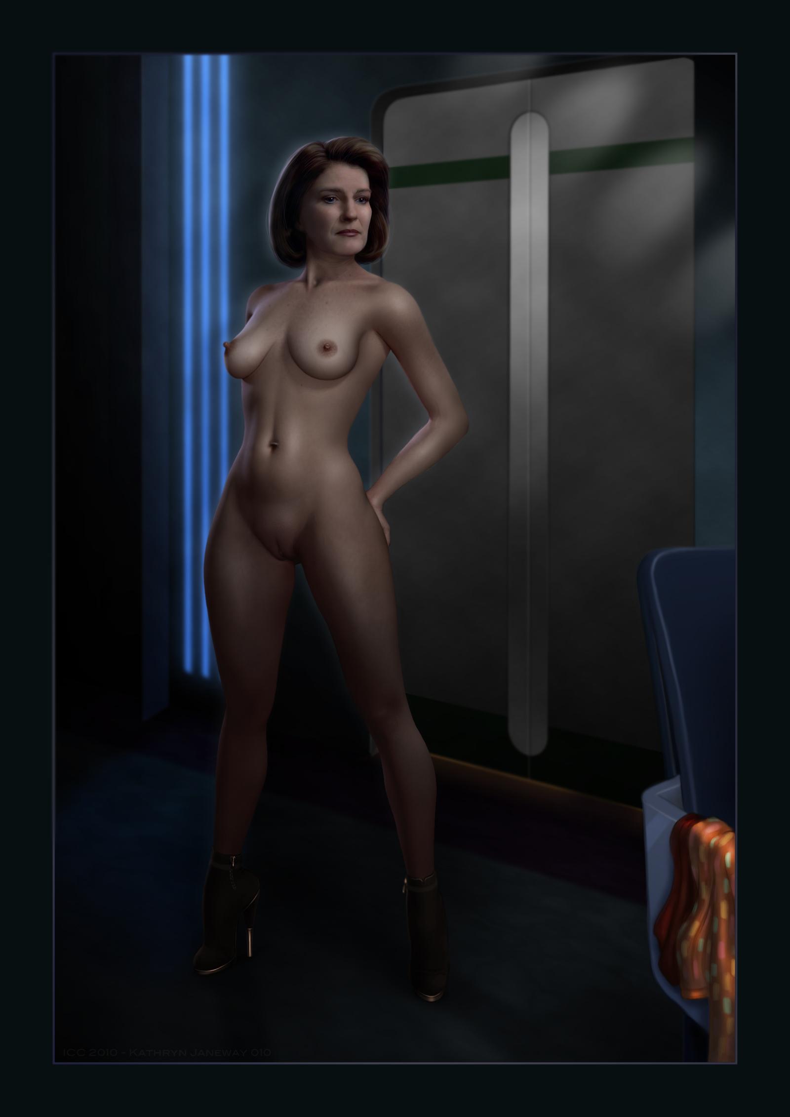 Kate Mulgrew Nude Paparazzi