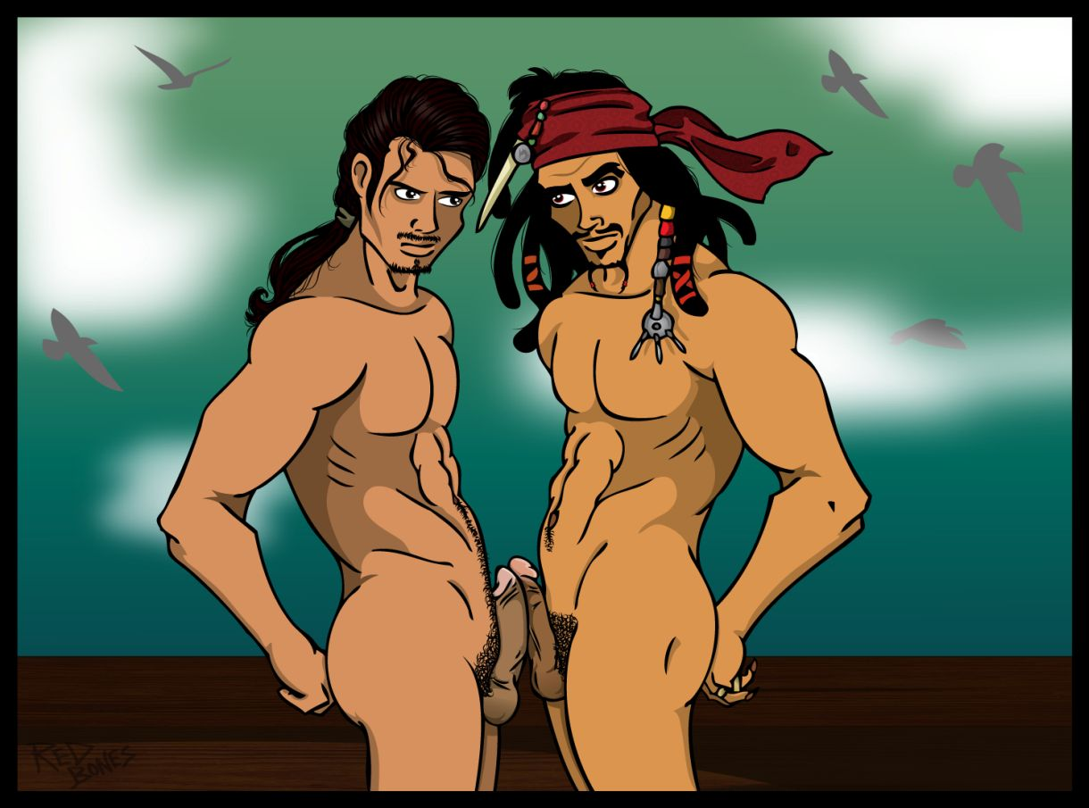 Pirates of caribbean cartoon nudes hentay movie