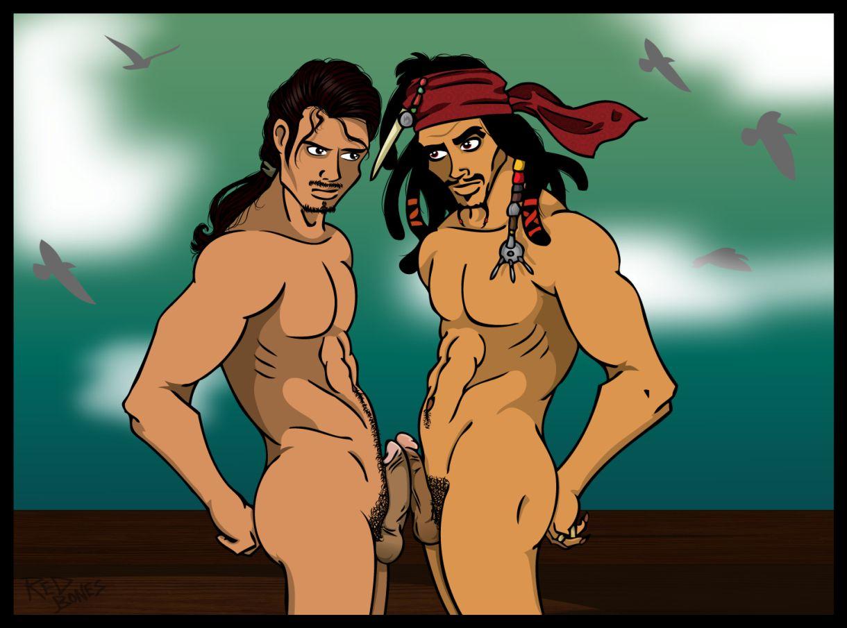 Гей Порно Комиксы Пираты