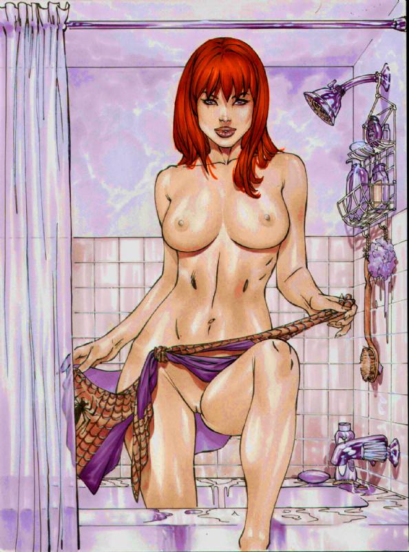 Loving marvel comics sexy