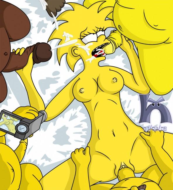 Порно симпсоны мэгги