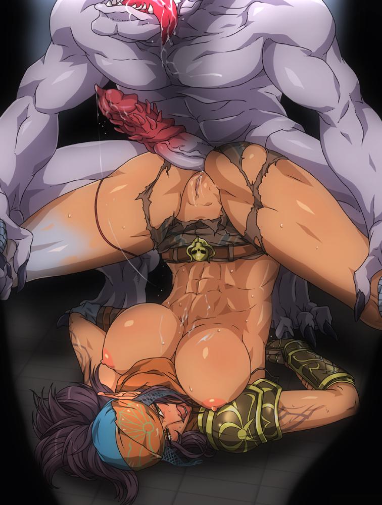 порно картинки аниме секс с монстрами