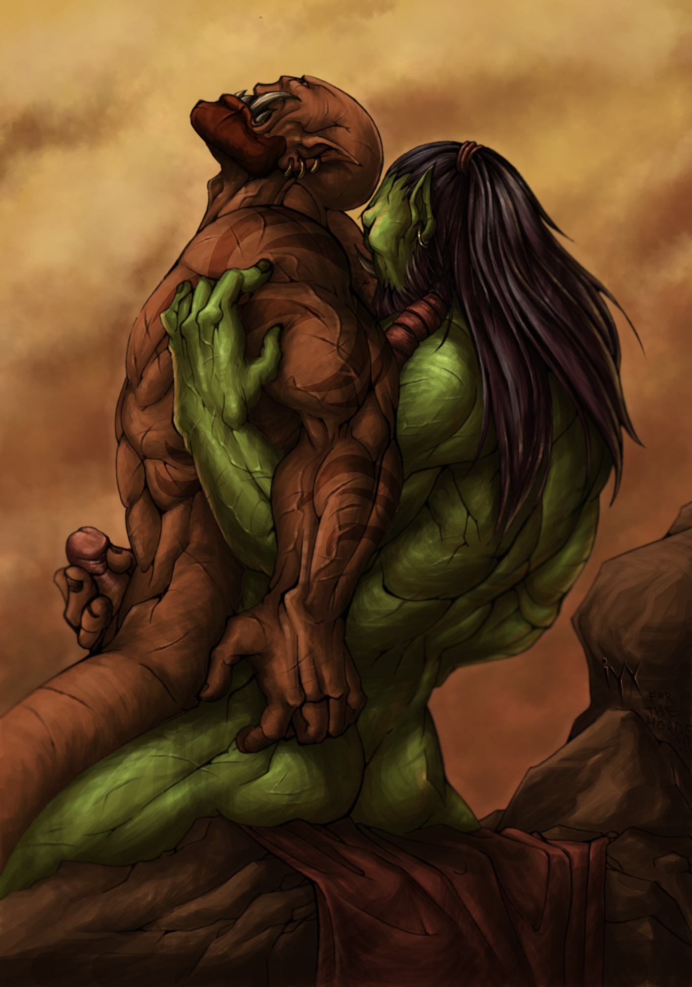 Gay orc world of warcraft porn orc fucked pictures