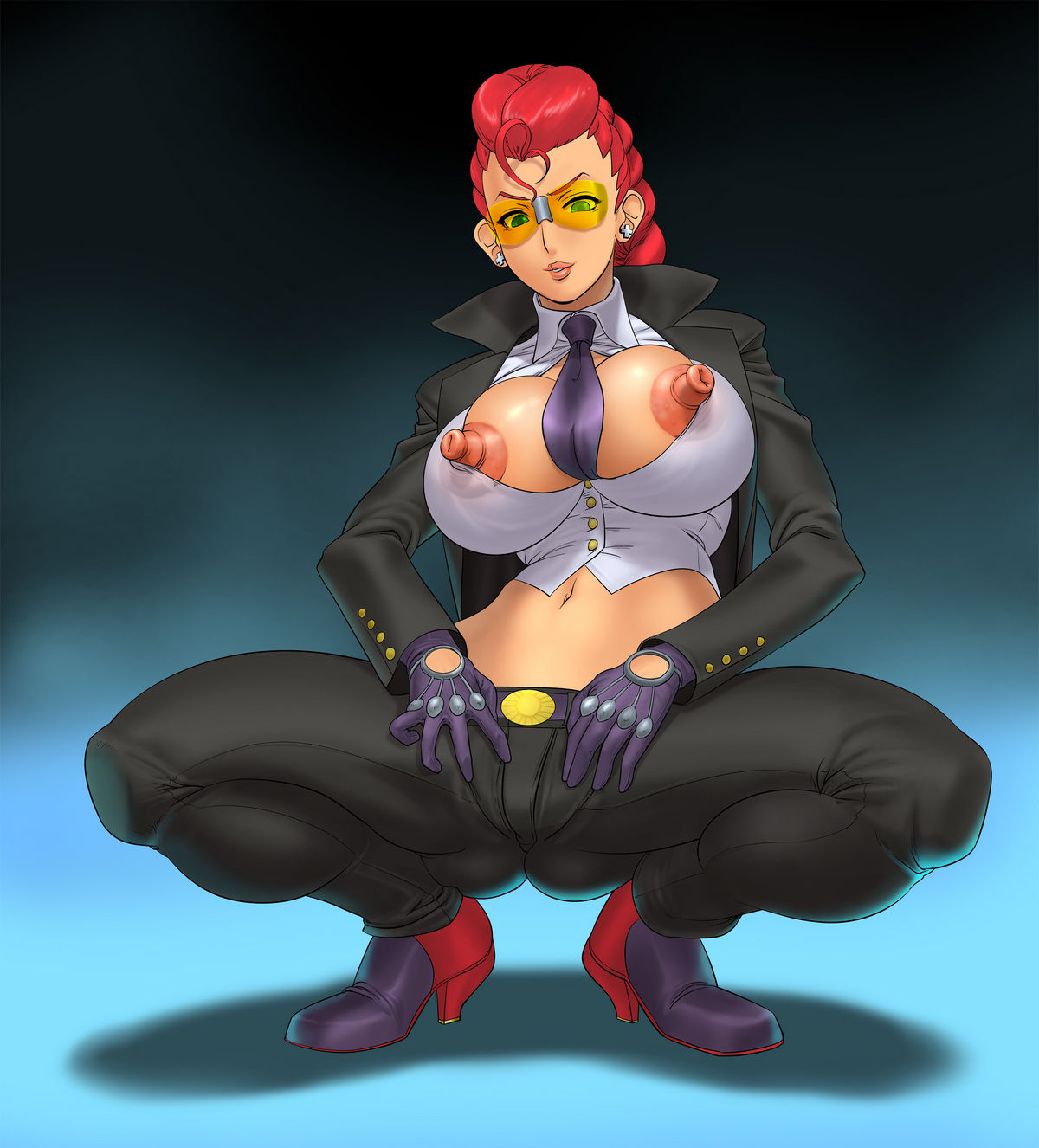 C viper street fighter bigtits juicy nude photo