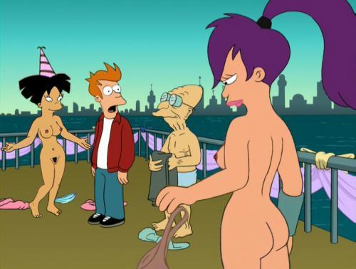 Futurama leela és megsütjük kezdődik randevúk