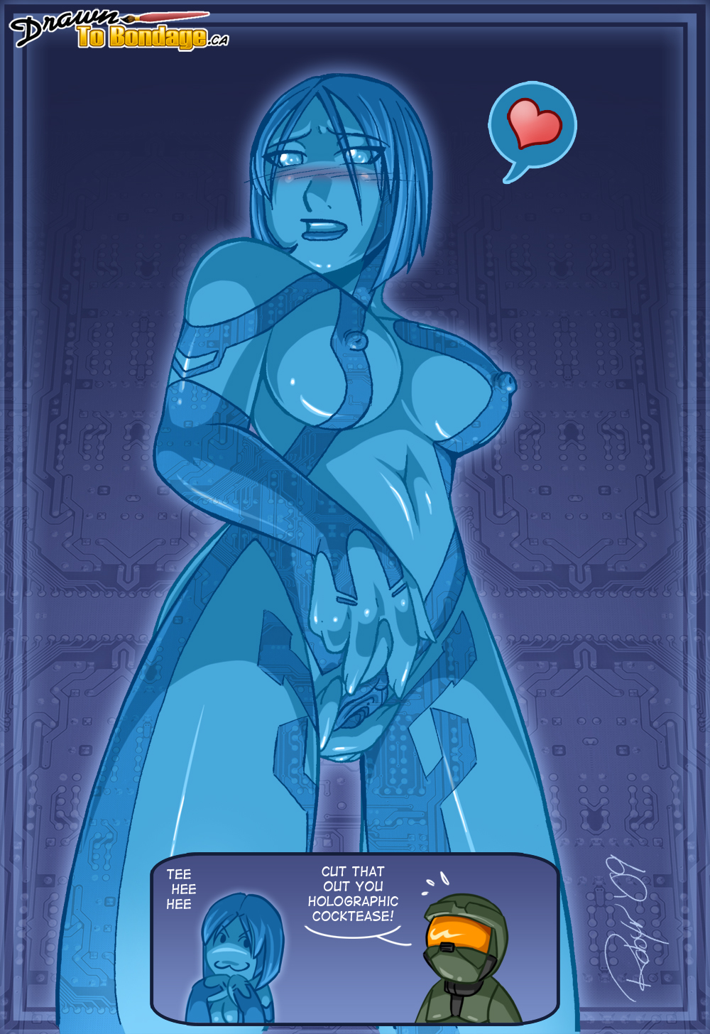 Cortana cartoon naked sexy slaves