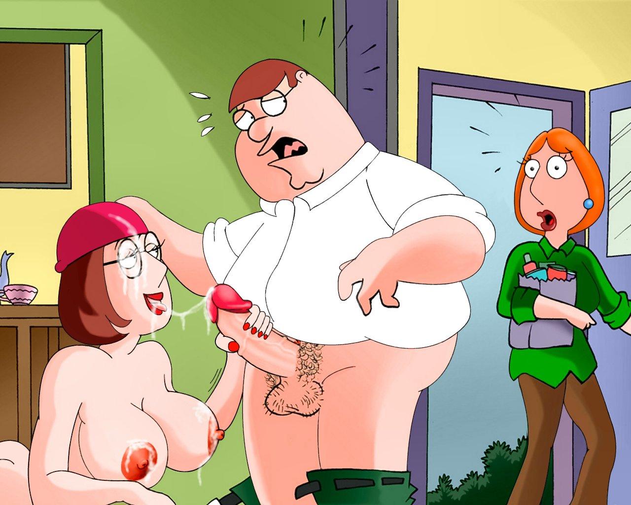 Naked women in family guy