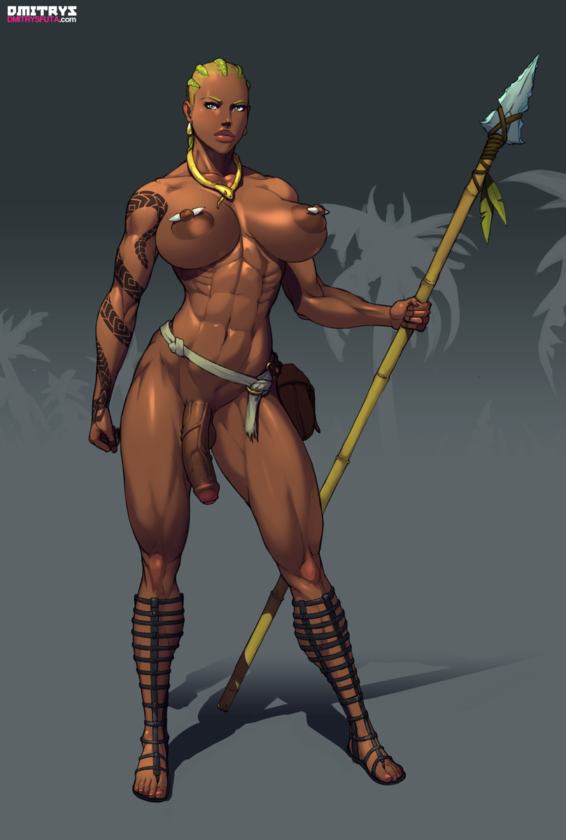 Dickgirl warrior women