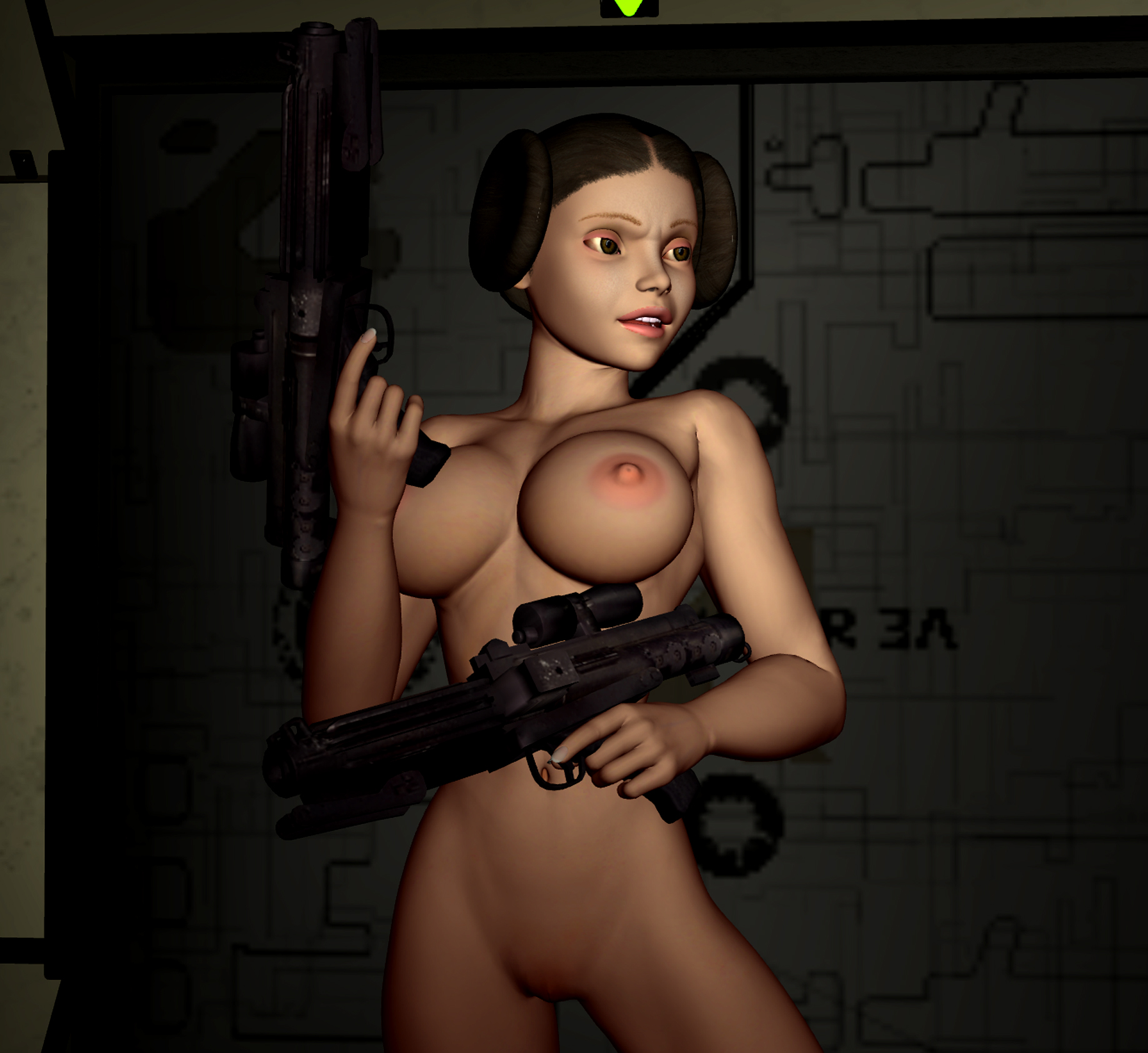 Princess leia porn naked photos