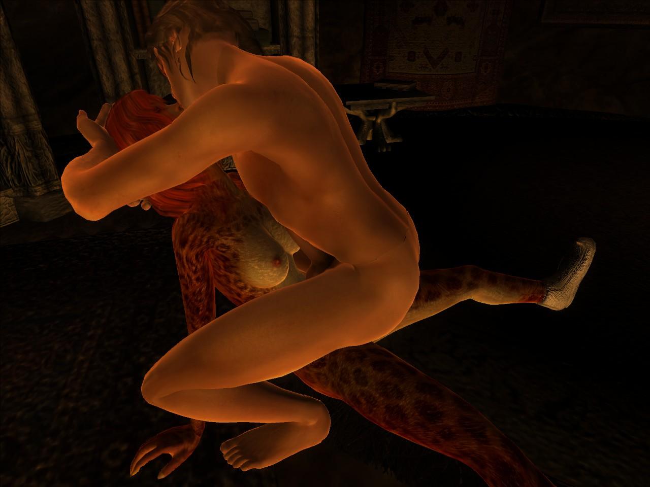 Oblivion khajiit nude nude toons