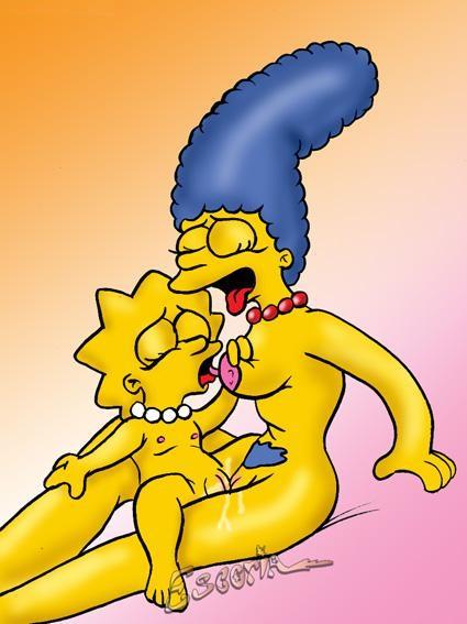 порно мультики симпсоны лиза видео