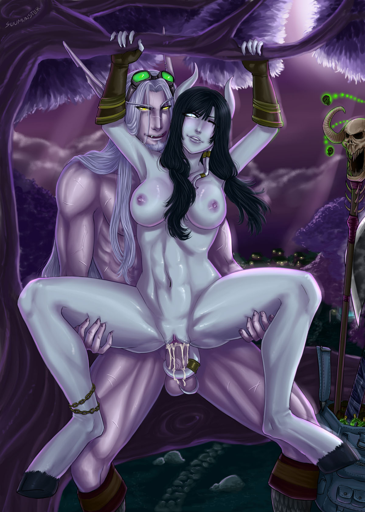 Sexy night elves adult amateurs lovers
