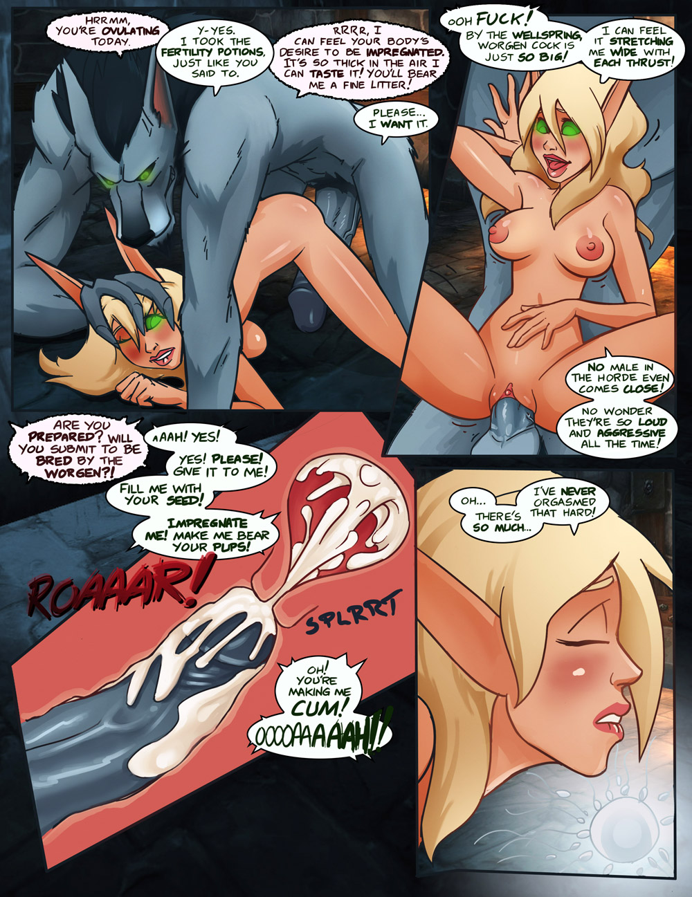 Blood elf impregnation hentai hentai gallery