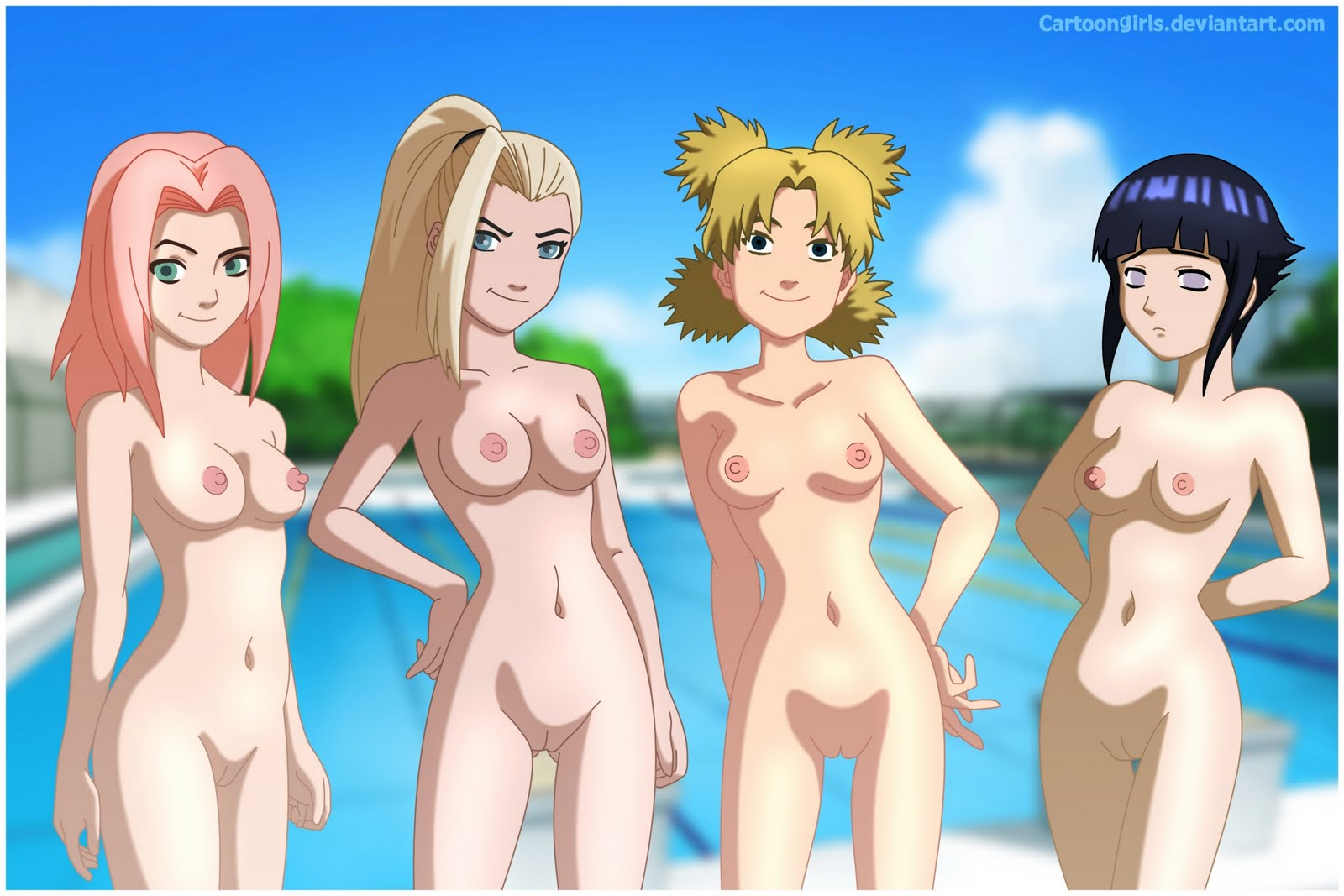 Naruto hinata girls naked