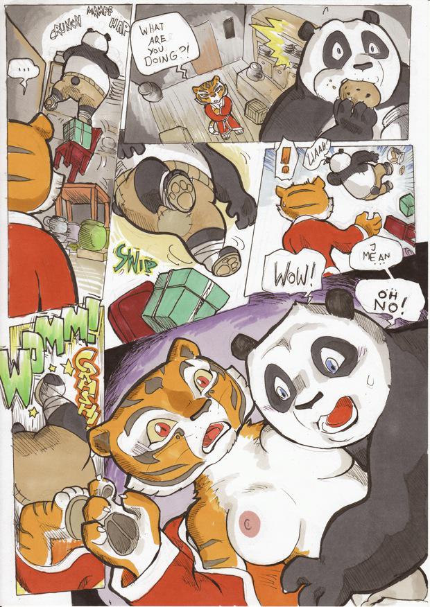 порно кунфу панда комикс